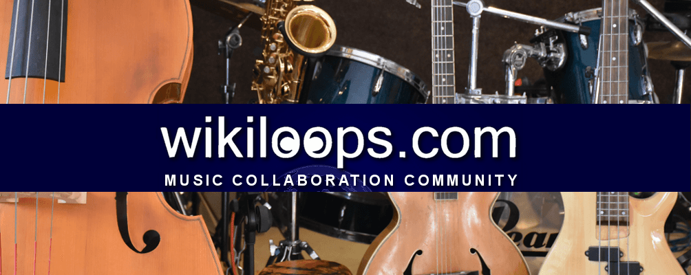 Welcome to wikiloops backing track collaborations
