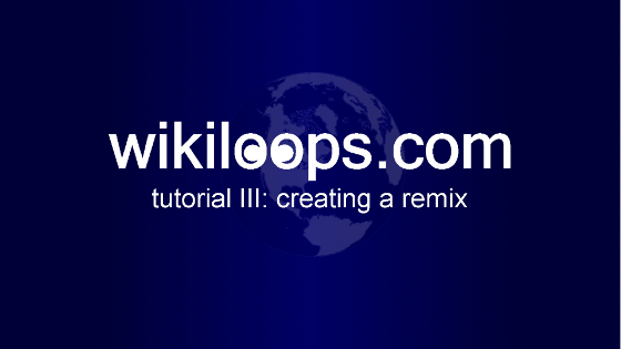 watch the how to create a remix video tutorial