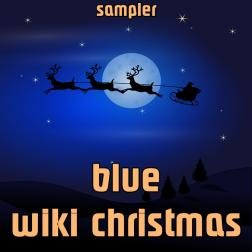 blue wiki christmas