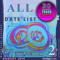 30secTrackFestival ALL Date List Vol. 2