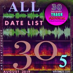 30secTrackFestival ALL Date List Vol. 5