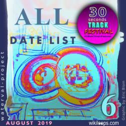 30secTrackFestival ALL Date List Vol. 6