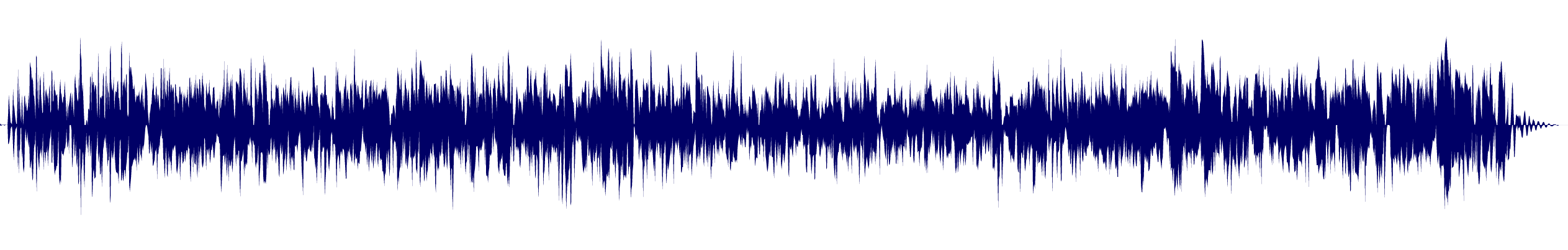waveform of track #100587