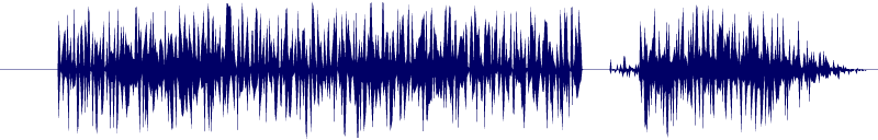waveform of track #100999