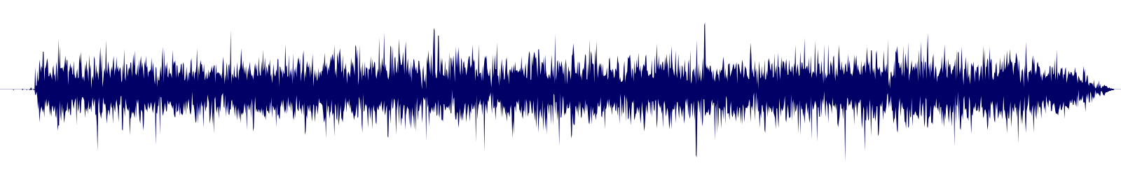 waveform of track #110023