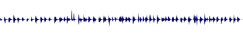 waveform of track #110070