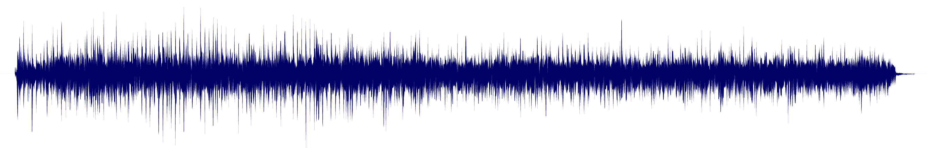 waveform of track #110629