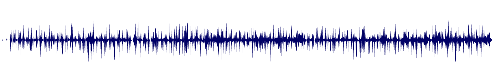 waveform of track #110727