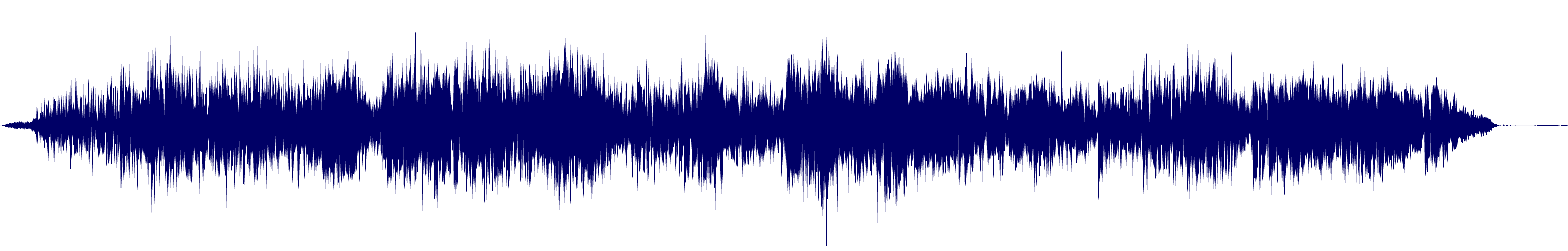 waveform of track #110822