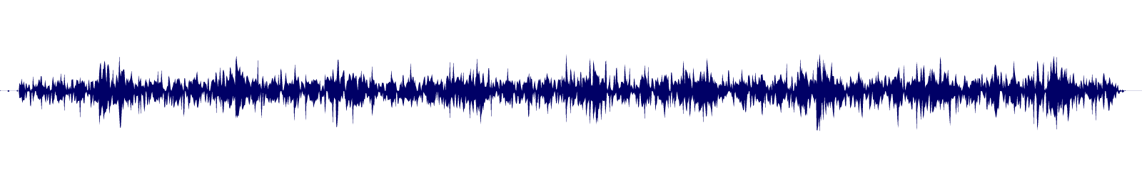 waveform of track #112100