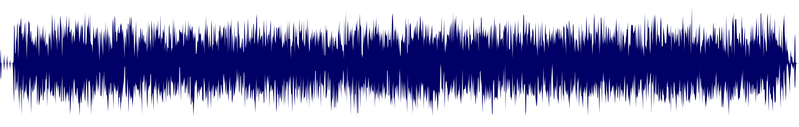 waveform of track #130543