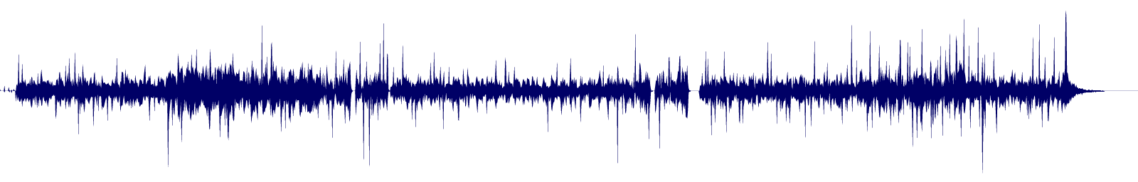 waveform of track #131738