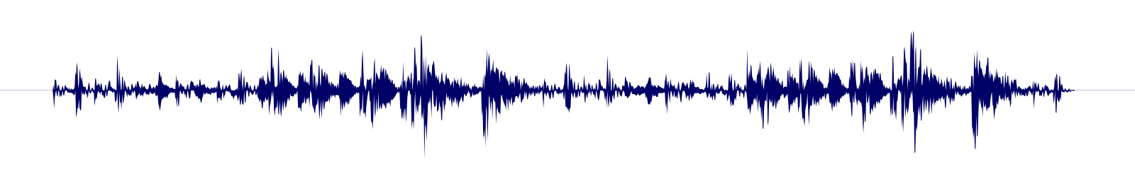 waveform of track #137552