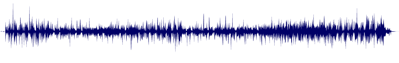 waveform of track #89540