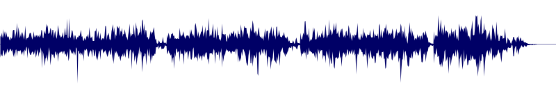 waveform of track #99052